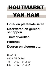 Beerse Boys Website Advertentie punter houtmarkt van ham staand